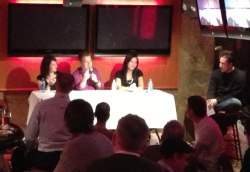Panelists at Third Tuesday