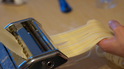 You won't regret making your own pasta.