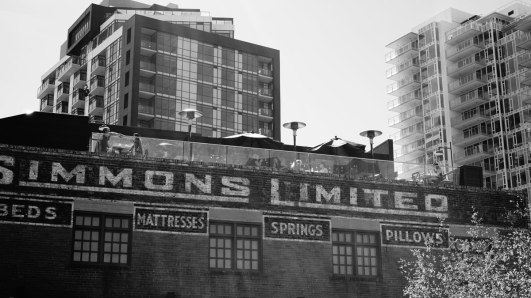 Back on the mainland, the Simmons Building in East Village.